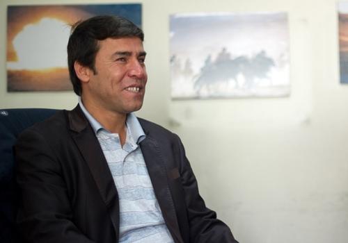 Phóng viên ảnhShah Marai hồi năm 2012. Ảnh: AFP.