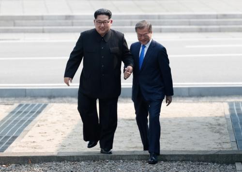 Lãnh đạo Triều Tiên, Hàn Quốc gặp mặt tại Panmoon