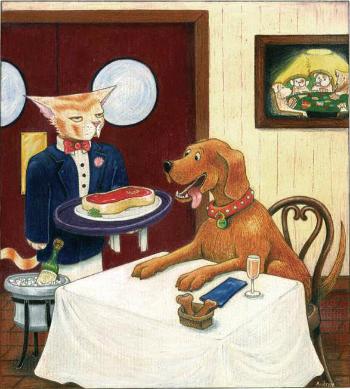 Tiếng Anh có câu nói nổi tiếng về cơ hội: Every dog has his/its day.Ảnh: Pinterest