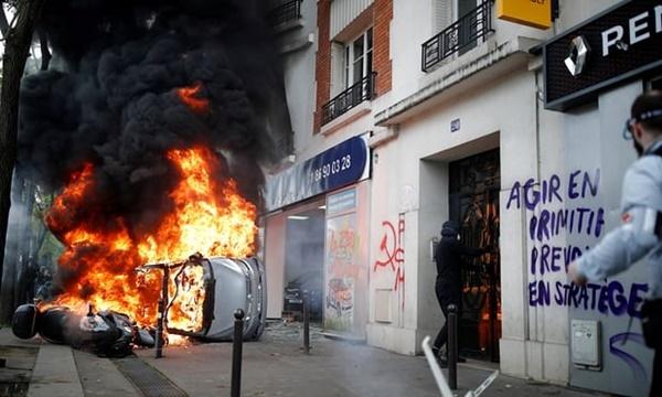 Thế giới ngày 2/5: Biểu tình ngày Quốc tế Lao động biến thành bạo lực ở Pháp