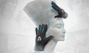 Găng tay thực tế ảo giúp người khiếm thị 'nhìn' hiện vật