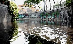 Hệ thống máy bơm bị phá hoại, hầm chui ở Sài Gòn ngập sâu