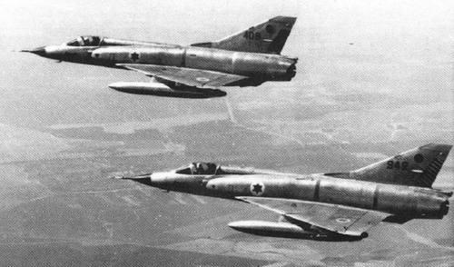 Tiêm kích Mirage trong biên chế không quân Israel. Ảnh: IAF.