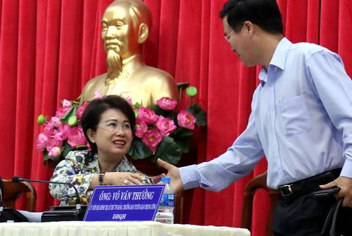 Bà Phan Thị Mỹ Thanh: 'Làm lãnh đạo, trong công việc chắc chắn phải có sai'