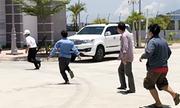 Nhân viên trạm BOT ở Khánh Hòa bị tài xế đuổi đánh
