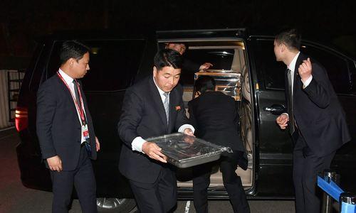 Hậu trường cuộc gặp Kim - Moon