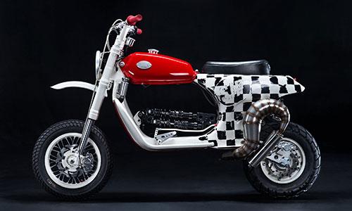 Vespa PX150 độ phong cách xe ga lai môtô