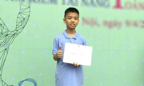 Hoàng Tuấn Dũng là học sinh giỏi Toán nổi tiếng ở tỉnh Hà Giang. Ảnh: Báo Hà Giang