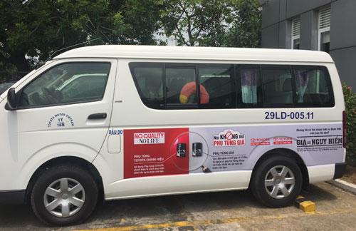 Chọn phụ tùng ôtô chính hãng giúp đảm bảo kỹ thuật và an toàn.