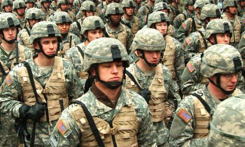 Binh sĩ Mỹ chuẩn bị triển khai tới nước ngoài. Ảnh: US Army.