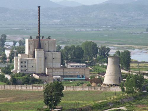 Nhà máy hạt nhân Yongbyon của Triều Tiên. Ảnh: NBC News.