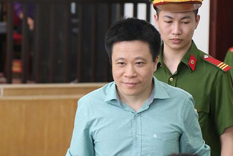 Bị cáo Hà Văn Thắm.Ảnh: Phạm Dự