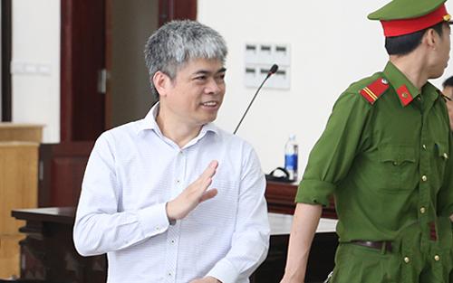 Bị cáo Nguyễn Xuân Sơn.Ảnh: Phạm Dự