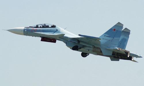 tiêm kích Su-30SM Nga hoạt động tại Syria. Ảnh: Russian Planes.
