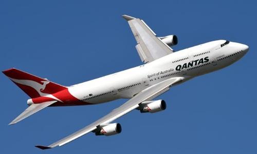 Một máy bay của hãng hàng không Qantas. Ảnh: CNN.