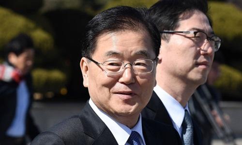 Cố vấn An ninh quốc gia Hàn Quốc Chung Eui-yong. Ảnh: Reuters.