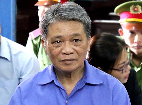 Cựu chủ tịch Toàn nhận 7 năm tù. Ảnh: Hải Duyên.
