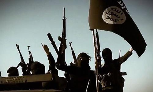 Phiến quân IS ở Syria. Ảnh: BBC.