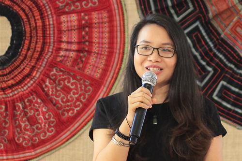 Chị Lò Thanh Hòa từng gặp nhiều rào cản về kiến thức va ngôn ngữ nhưng đã chinh phục được các học bổng ngắn hạn. Ảnh: D.T