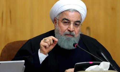Tổng thống Iran Hassan Rouhani. Ảnh: Anadolu Agency.