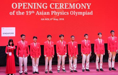 Học sinh 25 quốc gia tham dự Olympic Vật lý châu Á tại Hà Nội