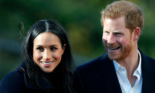 Hoàng tử Anh Harry và hôn thê sẽ tổ chức đám cưới vào ngày 19/5. Ảnh: AP.
