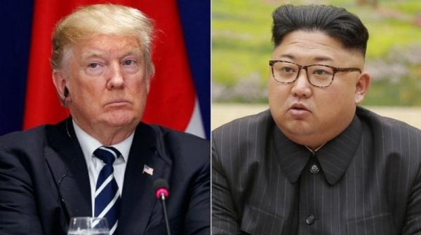 Lãnh đạo Mỹ và Triều Tiên. Ảnh: AP.