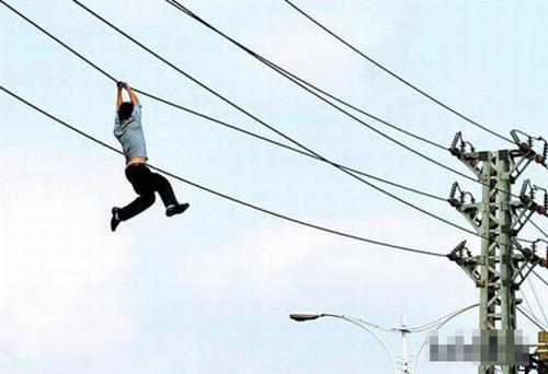 Đu dây điện trong truyền thuyết là đây.