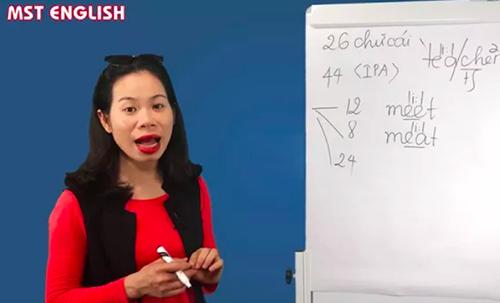 Nữ giáo viên trung tâm tiếng Anh mạt sát học viên không cung cấp được văn bằng ngoại ngữ. Ảnh chụp màn hình.