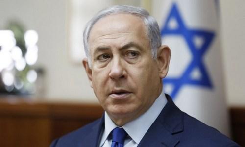 Thủ tướng Israel Benjamin Netanyahu. Ảnh: AFP.