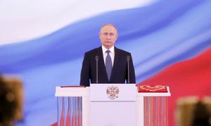 Putin đọc lời tuyên thệ nhậm chức Tổng thống Nga