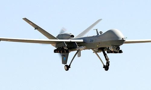 UAV Reaper của không quân Anh. Ảnh:IBTimes.