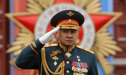 Bộ trưởng Quốc phòng Nga Sergei Shoigu. Ảnh: Reuters.