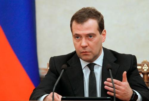 Thủ tướng Nga Dmitry Medvedev. Ảnh: