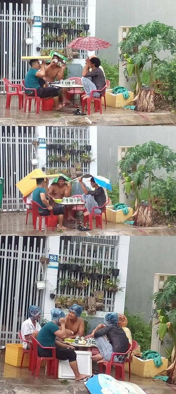 Dân chơi không sợ mưa rơi.
