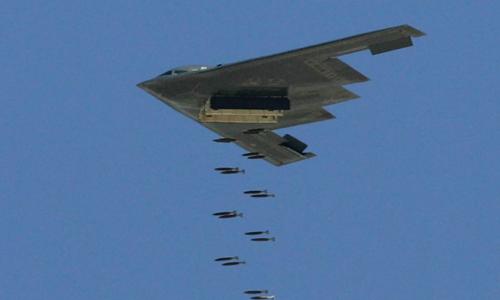 Radar lượng tử có thể phát hiện các loại máy bay ném bom tàng hình. Ảnh: Ethan Miller.