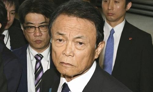 Phó Thủ tướng kiêm Bộ trưởng Tài chính Nhật Bản Taro Aso. Ảnh: Kyodo News.