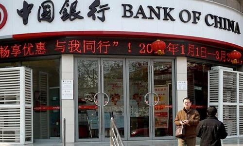 Người dân được xếp hạng mức cao có thể dễ dàng vay tiền ngân hàng. Ảnh: China Daily.