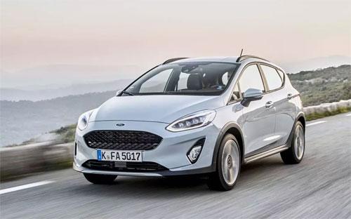 Fiesta Active là phiên bản crossover của dòng Fiesta và được Ford bán ra tại châu Âu.