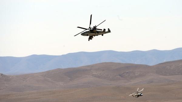 Trực thăng Ka-52 của Nga. Ảnh: RT.