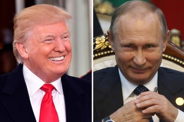 Tổng thống Mỹ Donald Trump và Tổng thống Nga Vladimir Putin. Ảnh: AP, RT.