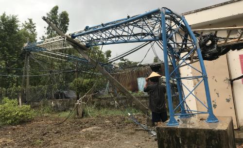 Chiều7/5nhiều khu vực tại tỉnhLong An cómưa lớn.