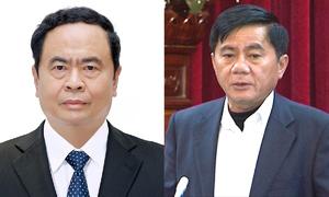 Bầu bổ sung ông Trần Cẩm Tú, Trần Thanh Mẫn vào Ban bí thư