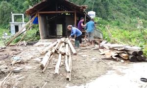 Mưa lốc làm hư hại gần 200 ngôi nhà ở Tuyên Quang