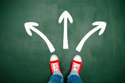 Nhiều học sinh đứng trước ngã ba đường trong việc lựa chọn ngành học.