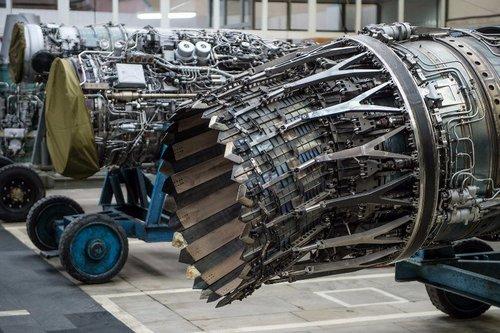 Động cơ Izdeliye 30 tại nhà máy sản xuất. Ảnh: Bộ Quốc phòng Nga.