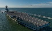 Tàu sân bay 13 tỷ đô của Mỹ chết máy giữa biển