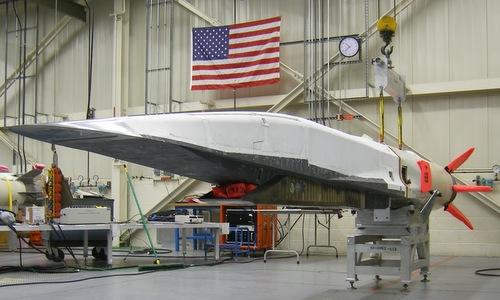 Phương tiện lướt siêu vượt âm X-51A của Mỹ. Ảnh: USAF.