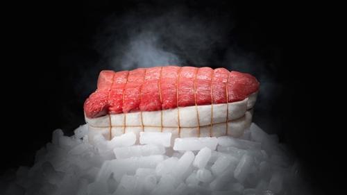Thịt bò ngủ đông đặc biệt của cửa hàng Polmard Bouchurie.