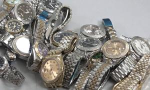 Thu hàng nghìn đồng hồ, mắt kính nghi hàng giả tại chợ Bến Thành